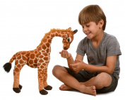 Kangaroo Stuffed Giraffe - Toy Plush Giraffe- . High, Neck Moves