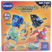 VTech Switch & Go Dinos - Animated Dinos 2-pack with T-Don and Tonn