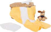 Baby Butt 9-pc terry set white