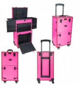 shany rebel series pro makeup artists multifunction cosmetics trolley train case