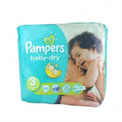 Pampers Nappies Baby Dry Size 3 Midi 30 by Pampers