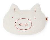 oh dear! Pig Face Nursing Pillow - Red