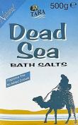 SIX PACKS of Tara Dead Sea Bath Salts 500g