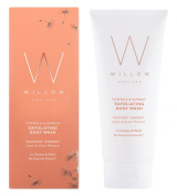 Willow Organic Beauty Vitamin A and Bamboo Radiant Energy Exfoliating Body Wash 200 ml