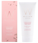 Willow Organic Beauty Vitamin A and Bamboo Blissful Peace Exfoliating Body Wash 200 ml