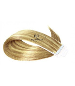Bands Adhesive - 35cm Smooth - Extension from hair natural - Tape No.613/14 Blond streaked ash
