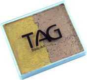 TAG 2 Colour Split Cake - Pearl Old Gold and Pearl Gold