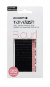 marvelash B Curl Lashes 0.07 Ultra Fine, Assorted Black