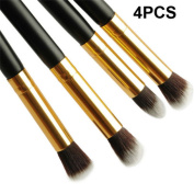SONGQEE(TM) 4PCS Pro Makeup Cosmetic Tool Eyeshadow Eye Shadow Foundation Blending Brush Set