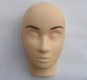 Set of semi-permanent, stick-on eyebrows, 100% natural hair, handmade - with glue and tweezer Colour brown