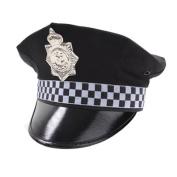 Childrens Kids Boys Police Policeman Hat Cap Fancy Dress Accessory