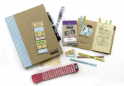 K & CompanySmash Scrapbook Folio Gift Pack, Blue