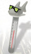 Hydro Tools 9226 Soft Top Cool Shark Pool Thermometer and Cord