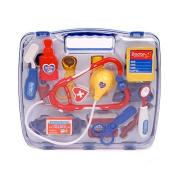 Oypla Blue Childrens Kids Role Play Doctor Nurses Toy Set Medical Kit