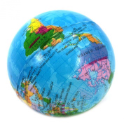 VANKER World Globe Stress Relief Ball Foam Hand Therapy Squeeze Toy Ball