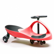 Active Play Swing Car Ride-On, Red