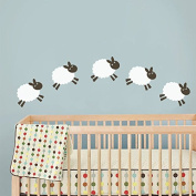 Sheep Wall Decal Baby Room Wall Sticker Nursery Wall Decor Play Room Wall Decal Wall Mural Wall Graphic Home Art Decor 1