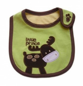 BuyHere Unsexy Baby Cute Animal Bib, Deer