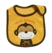 BuyHere Unsexy Baby Cute Animal Bib,Monkey
