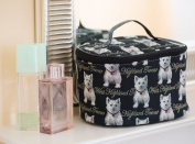Signare Womens Vanity Bag/ Toiletry Case/ Make-Up Case, Available in 14 Designs