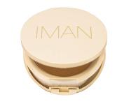 Iman Oil Blotting Pressed Powder Medium Deep