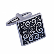 AMDXD JewelryStainless Steel Plated Cuff Links Men's Shirt Cufflinks