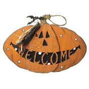Heaven Sends Large Wooden Halloween Welcome Sign