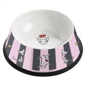 Ritzenhoff Porcelain Cat Bowl with Silicone Grip Design by Ian David Marsden 2014