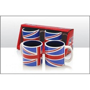 Elgate Union Jack Twin Coffee Cups