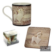 Chihuahua 8302 Mug & Coaster Set - My Pedigree Pals By Arora Design