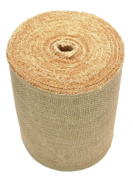Firefly Craft Burlap Ribbon Fabric, 15cm by 20 yards