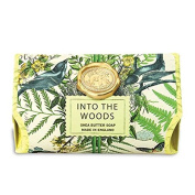 Into the Woods Large 260ml Milled Shea Soap By Michel Design