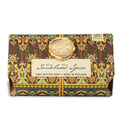 Sandalwood Spice Large Milled Shea Soap, 260ml by Michel Design