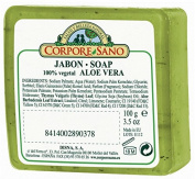 Corpore Sano Vegetal Soaps with vegetal glycerine-Aloe Vera/Loofah-Imported from Spain-100 gr100ml