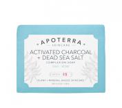 Apoterra Skincare - Organic Activated Charcoal + Dead Sea Salt Complexion Soap