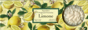 Saponificio Artigianale Fiorentino Soap Limone (Lemon) Bath Soap, 3 x 130ml
