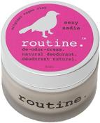 Routine De-Odour-Cream Handcrafted 50ml Clay Formula Deodorant Cream (Sexy Sadie