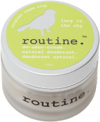 Routine De-Odour-Cream Handcrafted 50ml Clay Formula Deodorant Cream (Lucy In The Sky