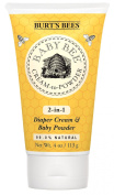 Burt's Bees Baby Bee Cream To Powder, 120mls