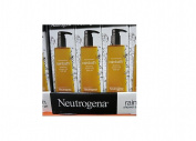 3 Pack Wholesale Lot Neutrogena Rain Bath Refreshing Shower and Bath Gel, 1180ml
