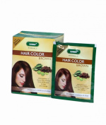 HERBAL HAIR colour DARK BROWN- Pack of 12