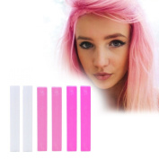Best Kendall Pink Ombre Hair Colour Set | DIY Pink Hair Dye | BARBIE Style Temporary Vibrant Hair Colour | With Shades of 2x White, 2x Baby Pink & 2x Hot Pink A Pack of 6 Vibrant Hair Colour | Colour your Hair White Pink Ombre in seconds with temporary ..