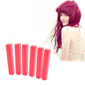 Strawberry Blonde Hair Dye | Candy Red Hair Colour With Shades of Raspberry Pink Set of 6 Temporary Hair Colour | Colour your Hair Strawberry Blonde in seconds with temporary HairChalk