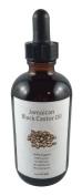 Organic Jamican Black Castor Oil in Glass Droper Unrefine No Additive No Fragrace No Colourant - 120ml