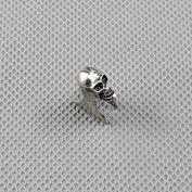 10 Pieces Earrings Ear Earring Supplies Hooks Stud Cuff Clip Punk XF090A Skull