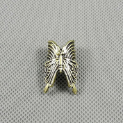 10 Pieces Earrings Ear Earring Supplies Hooks Stud Cuff Clip Punk XF213B Butterfly