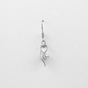 1 Pieces Earrings Ear Earring Supplies Hooks Stud Cuff Clip Punk XDG11 Love Heart