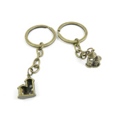 1 PCS Keyrings Keychains Key Ring Chains Tags Jewellery Findings Clasps Buckles Supplies Z0OQ7 Castle