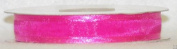 2.2cm Organza Ribbon With Satin Edge 25 Yard Roll Multiful Colours