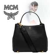 2015 MCM CORINA LEATHER Small size Shoulder Bag BLACK / MWS5SCN02BK [001-MI][Korea MCM]